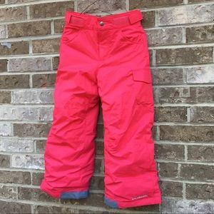 Girls' Columbia Starchaser Peak Snow/Ski Pants 4/5
